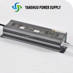 triac dimmable led driver CE,RoHS approved 150w waterproof netural package