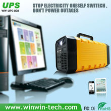 Portable 5 in 1 multifunction 220v emergency power supply solar ups price