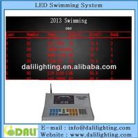 Best seller full color led digital tableau de board swimming scoreboard scorer