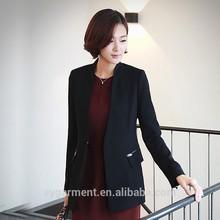 2015 nuevo de la moda las mujeres blazer chaquetas de las señoras traje de chaqueta