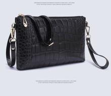Cheap women's shoulder bags crocodile texture school girl shoulder bag 2013
