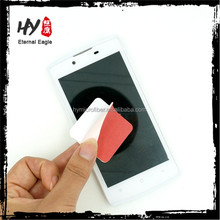 High quality microfiber lsticky mobile phone screen cleaner