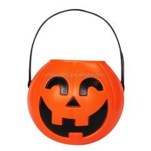 Pumpkin candy basket for halloween