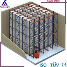 warehouse drive in rack steel storage first out/first in Pallet Rack factory suppllier