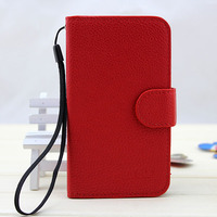 Leather protective case for samsung galaxy win i8552 from competitive factory
