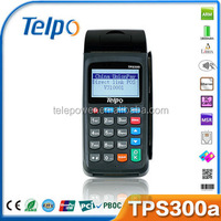 Telepower TPS300a Ethernet GPRS Bt Ethernet Retail POS Software System for Payment/Lottery/Bus Ticketing