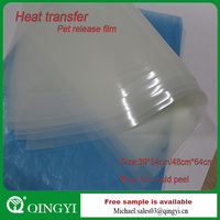 Heat transfer printing film for textile