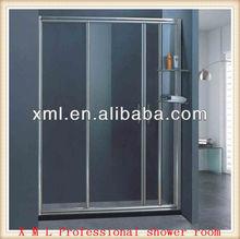 AS-L036 Rectangle glass shower room/steam room/folding glass shower doors
