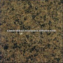 Saudi Polished Tropical Brown Granite Block