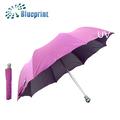 Bastante fácil de llevar a las mujeres sombrilla uv- parada 2 paraguas plegable