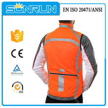 high visibility led jackets motorcycle