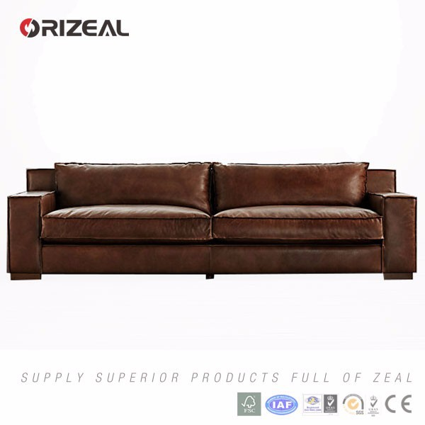 Orizeal High Quality Cheap Leather Sofa Set For Living