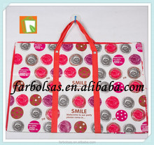 lamination pp woven shopping bag,PP woven bag with zipper china pp woven shopping bag