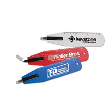 Custom Promotional Bookmark Ruler Pen