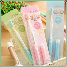 With toothbrush and actually eraser Auto Machanical fancy pencils and erasers