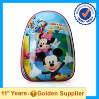 2015 High quality child school bag ,cartoon school bag for kids