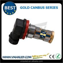 car accessory 12-16.5V 550LM 8*3623SMD Gold CANBus fog lights for sale fog lamp led fog lights car