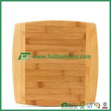Square bamboo cutting board antibacterial cutting board rectangular thick plate cutting board