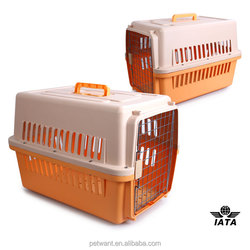 IATA approved No recycled PP material Pet flight kennel