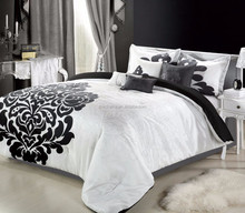 Elegant colorful cheap polyester floral european style bedding duvet cover set for sale