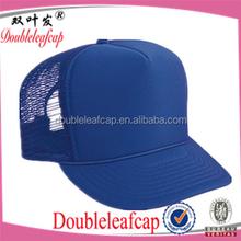 Polyester Foam Front High Crown Golf Style Custom trucker hats/ Mesh Caps