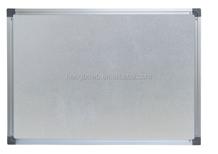 Canto de borracha seca placa magnética, crianças de borracha seca placa de escrita, placa de giz em forma para o importador