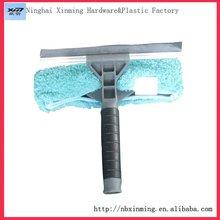 Multi ángulo herramienta de limpieza de vidrio para window scraper scraper y paño de limpieza