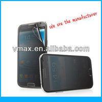 Factory Price Desktop privacy screen protector for Samsung Galaxy note 2 oem/odm (Privacy)