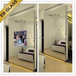 magic mirror tv led glass tv ,Mirrored Glass Television EB GLASS BRAND