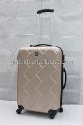 distinctive rhombus shape eminent luggage with high quality