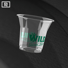 R150Y-T PLA 4oz 140ml biodegradable plastic cup - disposable sauce containers