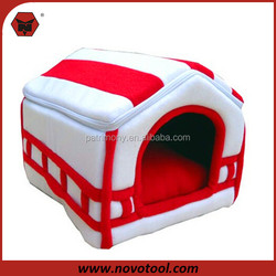 Soft Puppy Cat Beds Pet Kennel Dog Plush Sleeping Bed