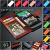 for htc one m8 wallet case with card slot and holder ID book wallet leather cover, for htc m8 cover