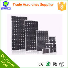 Home use and commercial application 120w monocrystalline china solar panel