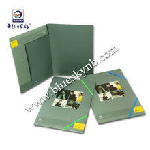Tri-folder Elastic File, A4 File Pocket, Paper File Documents (BLY8-0503PF)