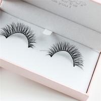 Wholesale False EyeLash Makeup Handmade hair Natural Fashion False Eyelashes Soft Long Eye Lash Cosmetic Fast shipping