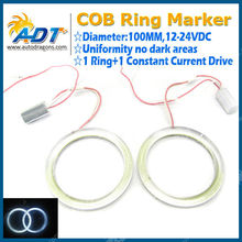 Angel Eyes 100mm 117smd COB LED White Halo Rings Lamp For Auto/Car/Vehicle/Truck/SUV