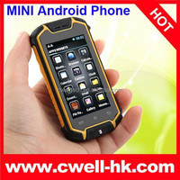 Z18 Mini Smartphone 2.5 Inch Capacitive Touch Screen Dual SIM Card Very Small Size Mobile Phone