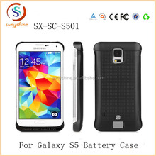 2014 New Arrival 3200mAh Power Bank Charger External Backup Battery Case For Samsung Galaxy S5