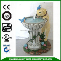 home decorative battery operated water fountain