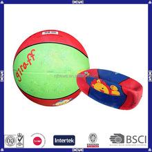 3# blank rubber basketball
