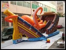 Giant inflatable Kraken slide large octopus slide inflatable sea monster slide