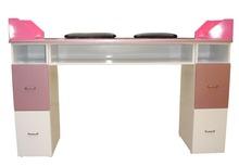 Hot sell nail polish table/ nail salon desk/ table manicure