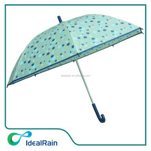 high sell straight 17 inches polka dot children umbrella
