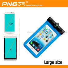 PNGXE wholesale mobile phone pvc blue waterproof bag cover for samsung galaxy s4 mini