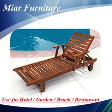 Venta caliente exterior daybed de madera antigua daybed de madera maciza daybed 505027