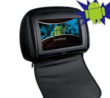 "High quality new arrival Android Car Headrest DVD Player with 9"" LCD display"