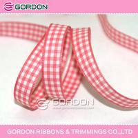woven plaid ribbon,yarn dyed ribbon,wedding plaid trim