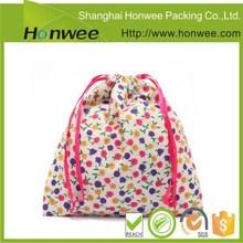 Stylish customized cotton drawstring bag