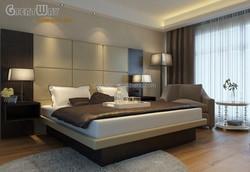 HL1129 Commercial Veneer Hotel Bedroom Furniture for Sale